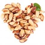Tasty brasil nuts, isolated on white — Stock Photo #47919357