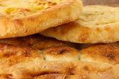 Pita bread close up — Stock Photo
