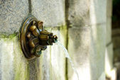 庭の噴水 — ストック写真