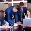 Business people working in conference room — Stock Photo #47963231