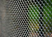 Metal texture close-up — Stock Photo