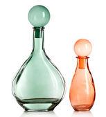 Decorative bottles, isolated on white — Foto de Stock