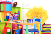 Interior of classroom at school — Stock Photo