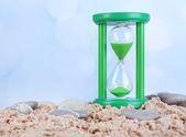 Přesýpací hodiny v písku — Stock fotografie