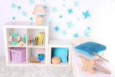 Modern playroom for children — Stock Photo