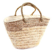 Wicker bag — Stock Photo