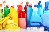 Cleaning products close up — Stock Photo