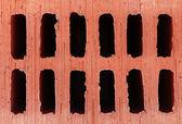 Brown brick texture, close up — Stockfoto