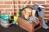 Tools of gardener — Stock Photo