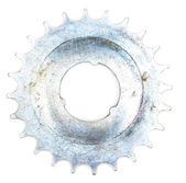 Metal cogwheel — Stock Photo