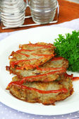 Potato pancakes — Stockfoto