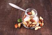 Tasty brasil nuts — Stock Photo