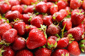 Strawberries close-up — Stock Photo