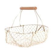 Wire basket — Stock Photo