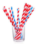 Colorful straws — Foto Stock