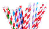 Colorful straws — Stock fotografie