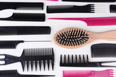 Professional hairdresser tools — Foto Stock