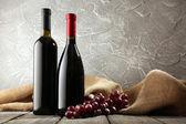 červené a bílé víno — Stock fotografie