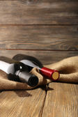 Lahví vína — Stock fotografie