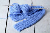 Yarns for knitting — Foto Stock