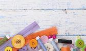 Naaien accessoires — Stockfoto