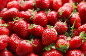Ripe sweet strawberries close-up — Стоковое фото