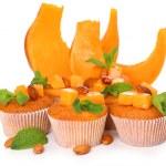Tasty pumpkin muffins — Stock Photo #49096321
