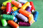 Multicolor sewing threads — Foto de Stock