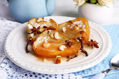 Baked pears with syrup — Foto de Stock