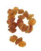 Raisins on wire — Stock Photo