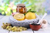 Remedios populares para los resfriados — Foto de Stock