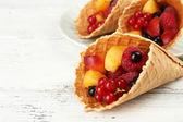 Dessert de fruits frais — Photo