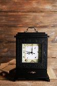 Old retro clock — Stock Photo