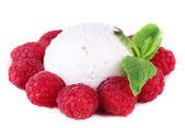 Creamy ice cream — Stock Photo