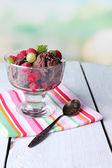 ミント風味のアイスクリーム — ストック写真