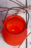 Bright icon-lamp — Stock Photo