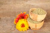 Dry henna powder — Photo