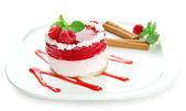 Delicious berry cake — Stock Photo