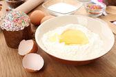 Easter cake preparing — Foto Stock
