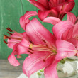 Beautiful lily in vase — Stock Photo #49191701