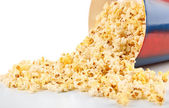Popcorn in paper cup — Stock Photo