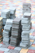 Tile paving — Stock Photo