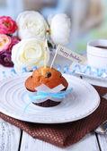 Böğürtlenli kek — Stok fotoğraf