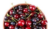 Berries in bowl — Stock Photo
