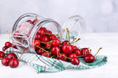 Ripe sweet cherries — Stock Photo