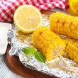 Grilled corn cobs — Stock Photo #49456483