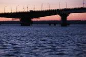Bridge in night time — Stock Photo