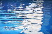 Mavi su havuzu — Stok fotoğraf