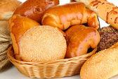 パンの様々 なクローズ アップ — ストック写真