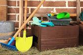 Herramientas del jardinero — Foto de Stock